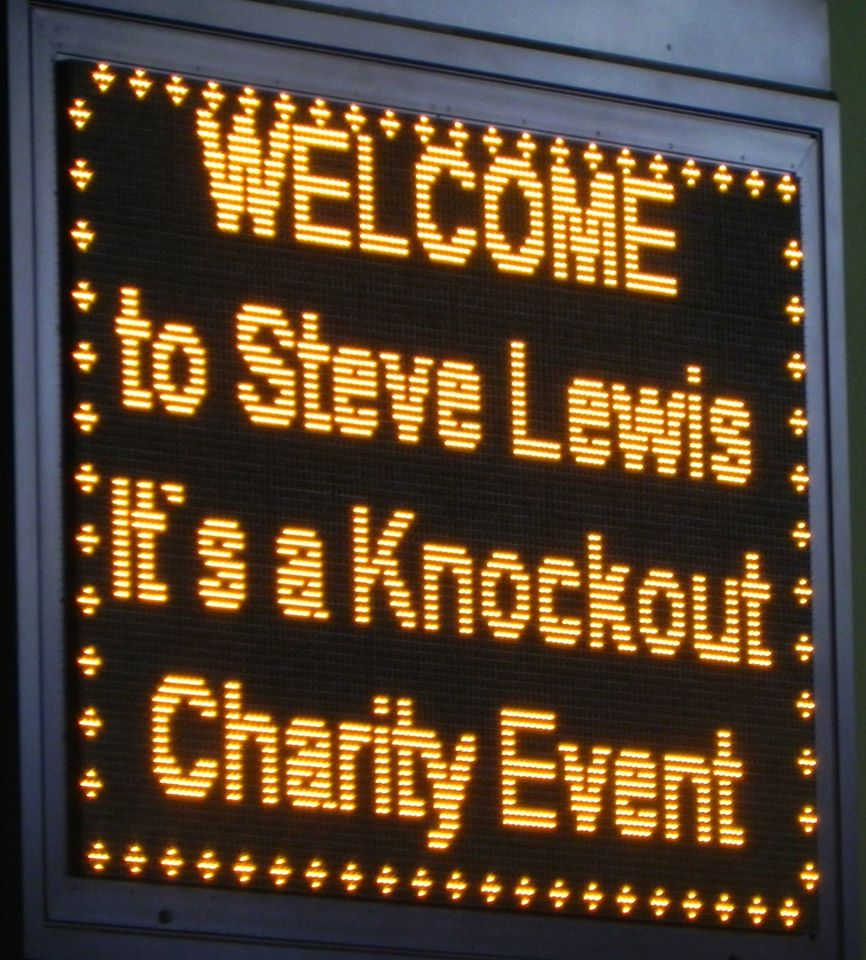 Its A Knockout Swim Event In Memory Of Steve Lewis