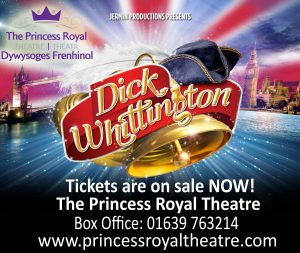 Dick Whittington - Pantomime @The Princess Royal Theatre @ The Princess Royal Theatre | Port Talbot | United Kingdom