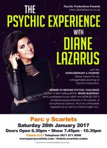 An Evening with Diane Lazarus at Parc y Scarlets @ Parc y Scarlets | Llanelli | Wales | United Kingdom