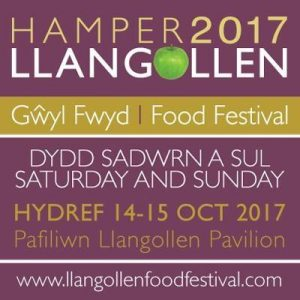 Hamper Llangollen Food Festival 2017 @ Royal Pavilion, Abbey Road | Wales | United Kingdom