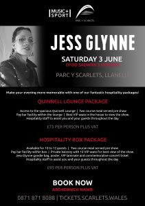 Jess Glynne (Hospitality Packages) at Parc y Scarlets @ Parc y Scarlets | Wales | United Kingdom