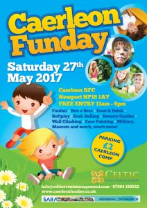 Caerleon Charity Funday 2017 @ Caerleon RFC | United Kingdom