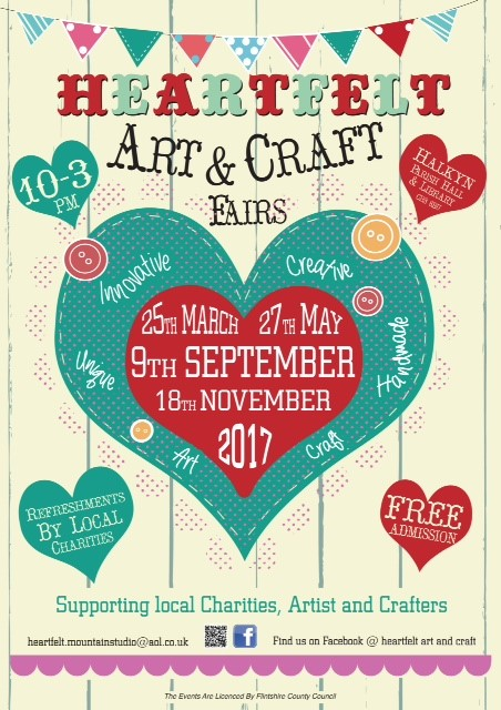 Heartfelt art and craft fairs eventsnwales charity for Arts and crafts fairs