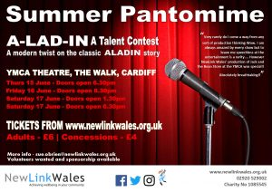 A-Lad-In A Talent Contest Summer Pantomime @ YMCA Theatre | Wales | United Kingdom