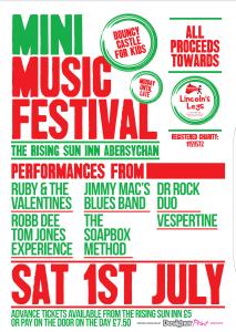Mini Music Festival in Aid Of Lincolns Legs @ The Rising Sun Inn | Wales | United Kingdom