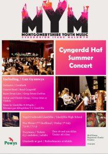 Monty Youth Music - Summer Concert / Cyngerdd Haf @ Llanfyllin High School | Wales | United Kingdom