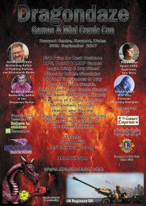 Dragondaze Games & Comic Con @ Newport | Wales | United Kingdom