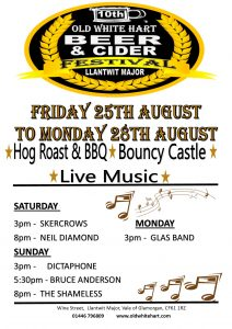Beer Festival @ Old White Hart - Llantwit Major @ Old White Hart | Wales | United Kingdom