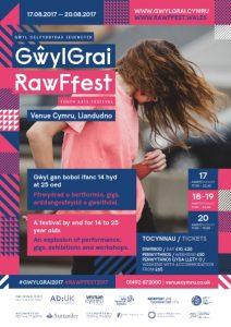 RawFfest GŵylGrai Youth Arts Festival @ Venue Cymru | Wales | United Kingdom