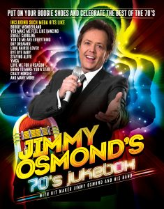 Jimmy Osmond 70's Jukebox Tour @ The Princess Royal Theatre | Wales | United Kingdom