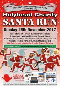 Holyhead Charity Santa Run 2017 @ The Boathouse Hotel | Wales | United Kingdom