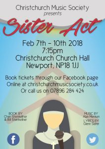 Sister Act the Musical @ Christchurch Church Hall | Caerleon | Wales | United Kingdom
