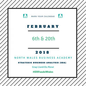 NWBA | SBA 06.02.18 | Grwp Llandrillo Menai | Strategic Business Analysis | Training and Mentoring @ UCCL, Coleg Llandrillo | Rhos on Sea | Wales | United Kingdom