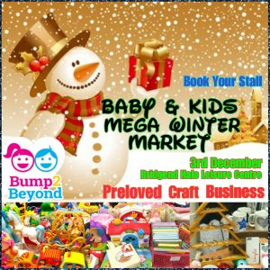 Bump2Beyond Baby & Kids Winter Market @ Bridgend Halo Leisure Centre | Wales | United Kingdom