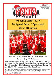 Torfaen Santa Run 2017 @ Pontypool Park | Wales | United Kingdom