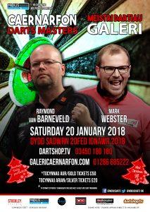 The Caernarfon Darts Masters, Galeri Caernarfon @ Galeri | Wales | United Kingdom