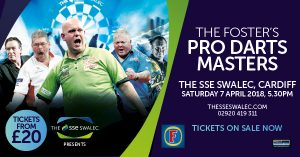The Fosters Pro Darts Masters at The SSE SWALEC @ The SSE SWALEC | Wales | United Kingdom