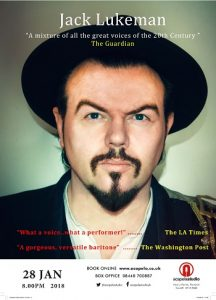 Jack Lukeman at Acapela Studio in Cardiff @ Acapela Studio | Pentyrch | Wales | United Kingdom