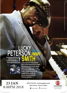 Lucky Peterson at Acapela Studio Cardiff @ Acapela Studio | Pentyrch | Wales | United Kingdom