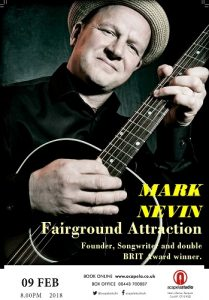 Mark Nevin of Fairground Attraction @ Acapela Studio | Pentyrch | Wales | United Kingdom