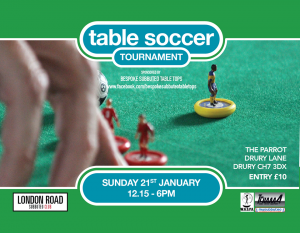 Subbuteo Table Soccer Tournament in North Wales @ The Parrot Inn | Wales | United Kingdom