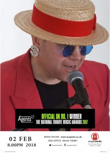 Ultimate Elton – the leading Elton John tribute @ Acapela Studio | Pentyrch | Wales | United Kingdom