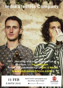 India Electric Company at Acapela Studio @ Acapela Studio | Pentyrch | Wales | United Kingdom