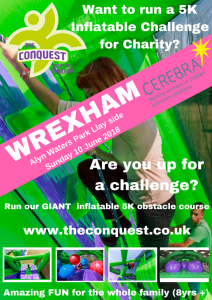 The Conquest 5K Inflatable Challenge - WREXHAM @ Alyn Walters Country Park | Wales | United Kingdom