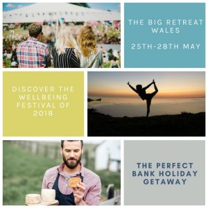 The Big Retreat Wales 25th - 28th May 2018 @ The Old Castle Terrace | Lawrenny | Wales | United Kingdom