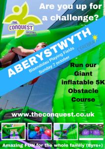 The Conquest 5K Inflatable Challenge ABERYSTWYTH @ Blaendolau Playing Fields | Llanbadarn Fawr | United Kingdom