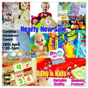 Bump2Beyond Baby & Kids NEARLY NEW SALE Swansea @ Canolfan Gorseinon Centre | United Kingdom