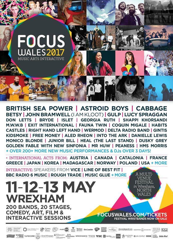focus wales 2017 festival wrexham