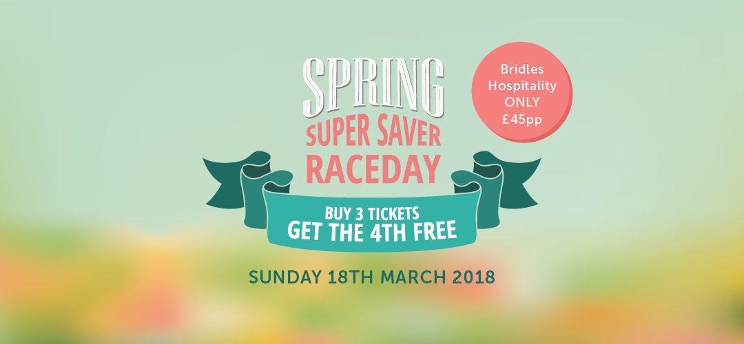 Spring Super Saver Raceday at Ffos Las Racecourse
