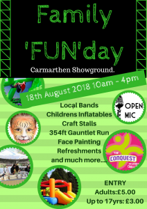 Carmarthen Family FUNday @ United Counties Showground | Nantyci | Wales | United Kingdom
