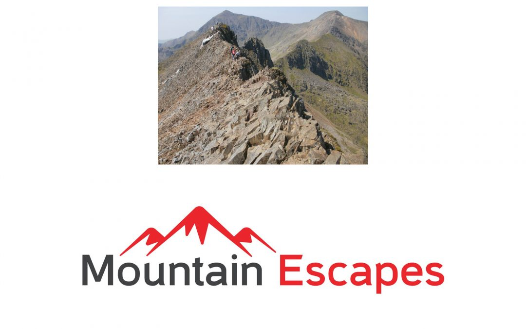 Crib Goch from Mountain Escapes
