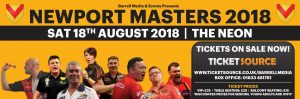 Newport Masters 2018 @ The Neon | Wales | United Kingdom