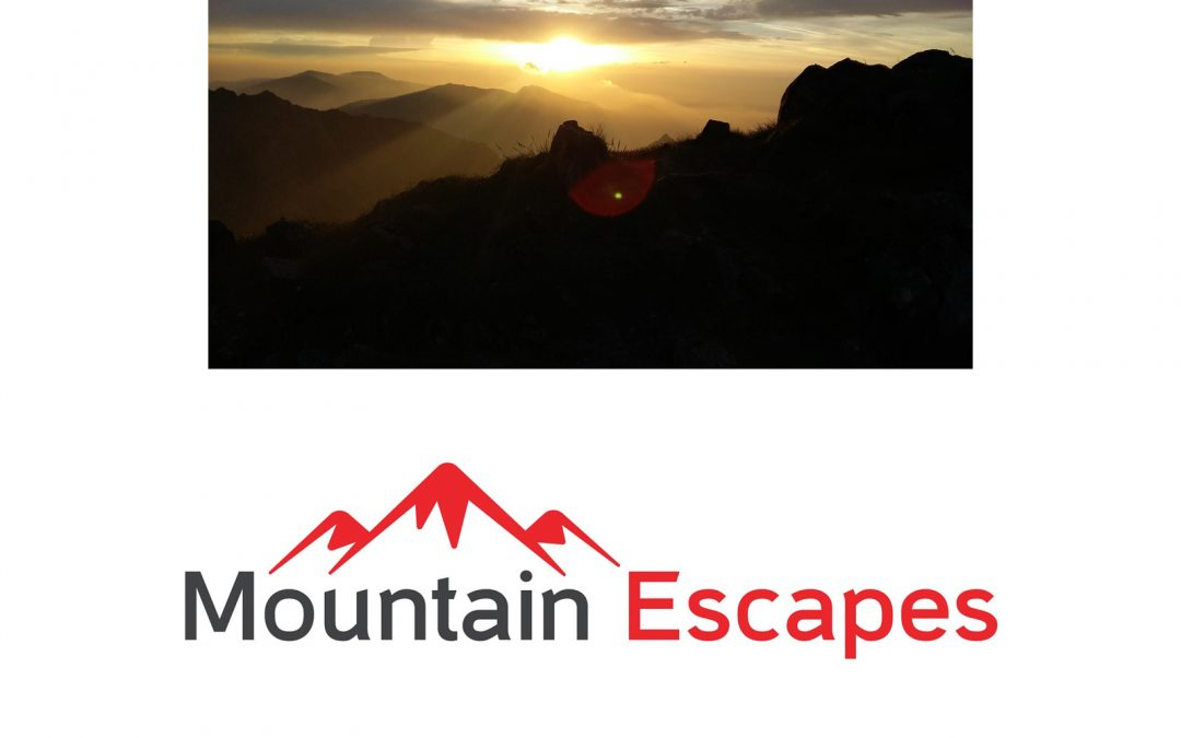Snowdon Sunrise Summer Solstice from Mountain Escapes