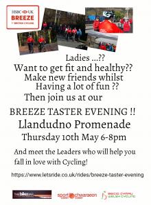 Breeze Taster Evening in Llandudno @ Llandudno Promenade | Wales | United Kingdom