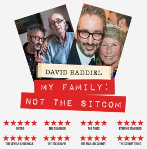 David Baddiel - My Family: Not the Sitcom @ Grand Pavilion | Wales | United Kingdom
