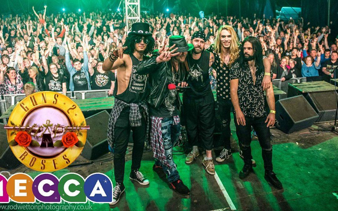Guns 2 Roses 16th Anniversary Show at Cwmbran MECCA