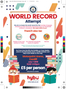 Guinness World Record Attempt Event @ Motorpoint Arena | Wales | United Kingdom