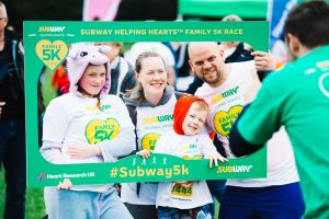 Subway Helping Hearts™ Family 5K Run @ Tredegar Park | Wales | United Kingdom