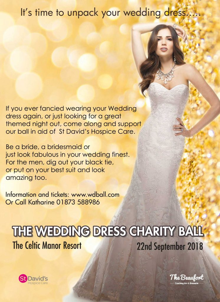 The Wedding Dress Charity Ball Eventsnwales Celtic Manor Newport