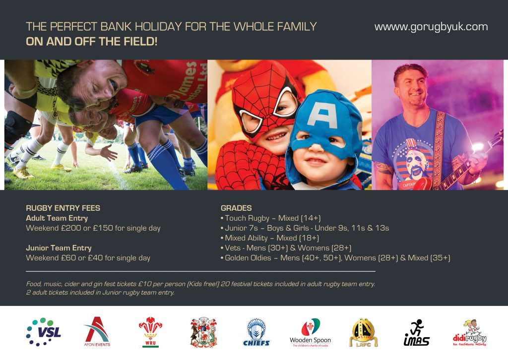 The GO Rugby Cardiff Festival information