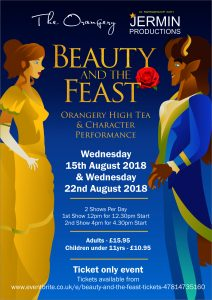 Beauty And The Feast 12:30pm Performance @ The Orangery, Margam | Wales | United Kingdom