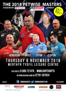 The 2018 Petwise Masters @ Merthyr Tydfil Leisure Centre | Wales | United Kingdom