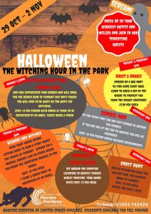 Halloween, The Witching Hour in the Park @ Pembrey Country Park | Wales | United Kingdom