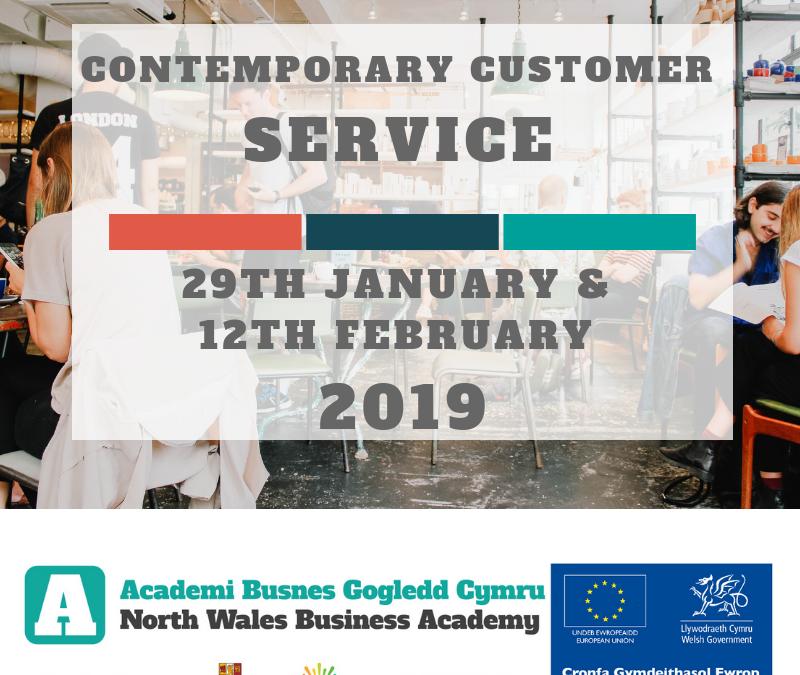 Contemporary Customer Service | Short HE Course @ Coleg Llandrillo