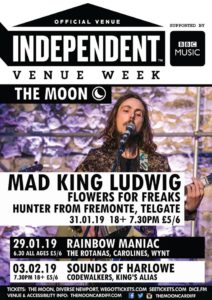 Independent Venue Week: MAD KING LUDWIG at The Moon @ The Moon