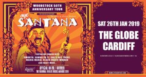 Oye Santana - The Music of Carlos Santana at The Globe in Cardiff @ The Globe